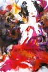 Snowwhite I- uit Lust for Life-Marjan Pennings- hexagram 54- klik voor Lotti 's tekst