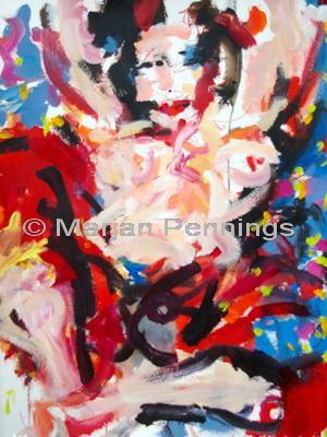 Valentijn 65 x 50 cm '12 -Marjan Pennings