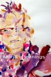 Vrouw met kuifje, acryl op papier, Marjan Pennings