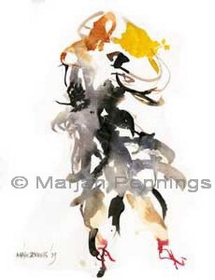Argentijnse tango nr. 10. Met rode hakken.