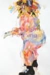 Dansen in je onderbroek, acryl, 70 x 55 cm - Marjan Pennings
