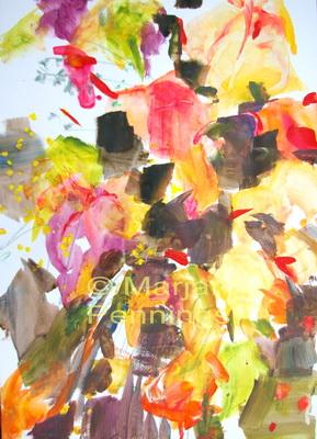 Autumn lurking '14 - 65 x 55 - Marjan Pennings
