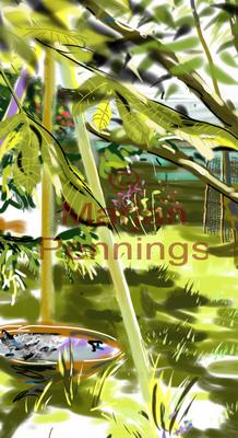 Birdsongs '15 (detail) - Print - Marjan Pennings