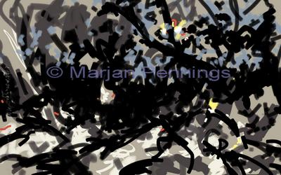 In the moonlight '17 Print - Marjan Pennings