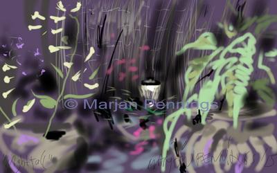 Nacht '15 Print - Marjan Pennings