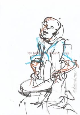 Dias Latinos, de percussie 3, A4 - Marjan Pennings