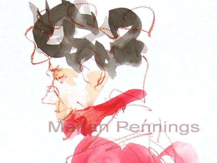 De sporen, detail - Marjan Pennings