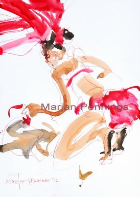 Almost ready, 50 x 35 cm - Marjan Pennings