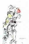 Dias Latinos, Public, dancing 3 A4 - Marjan Pennings