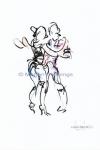 Dias Latinos, Public, dancing 4, A4 - Marjan Pennings