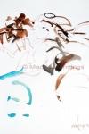 Uit je dak op Dias Latinos 2, 65 x 50 cm - Marjan Pennings
