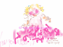 Hakkûh als je drie bent - met je roze rok aan: Lepeltje lepeltje 2017