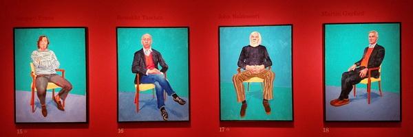 David Hockney's portretten