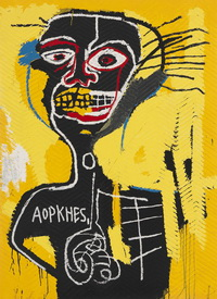 Jean Michel Basquiat in Londen