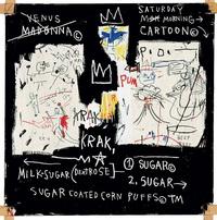 Jean Michel Basquiat in Londen