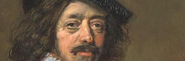 Dat schilderen van Frans Hals - het knispert en knettert
