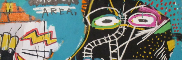 Jean Michel Basquiat in Schunck in Heerlen - het begin